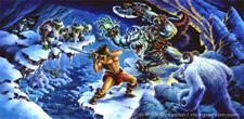 HeroQuest Copertina di The Frozen Horror